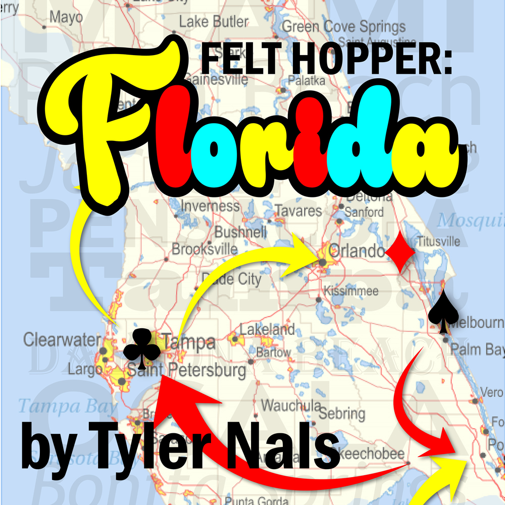 Felt Hopper Florida